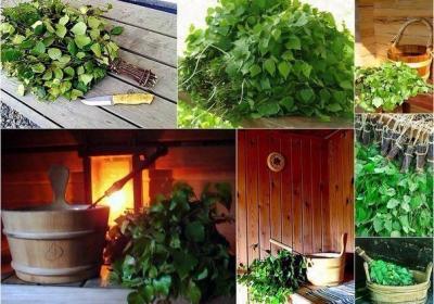 Баня на дровах (деревенская)
