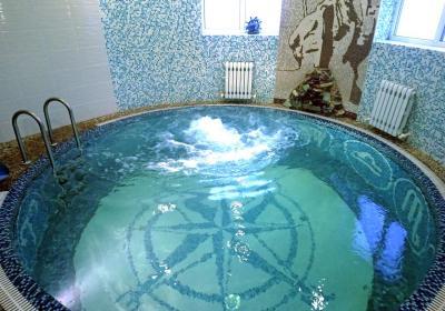 Баня на дровах Замок Нептуна (Ростошинские пруды)